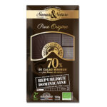 Chocolat noir 70% pure origine republique dominicaine