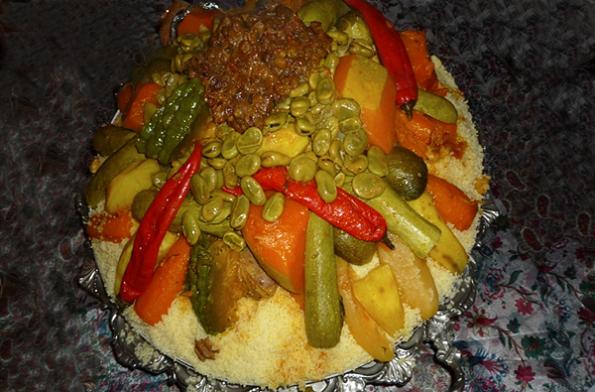 Le couscous au boeuf et sept légumes   LE web magazine de Tanger – Tanger Experience